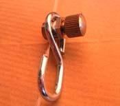 Sujeta-cables gancho + gancho S
